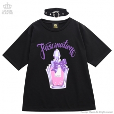 Enchanted perfume T-shirt with Choker ★ Listen Flavor