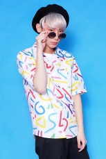 Galaxxxy | 80's Neon ★ Painted Shirt