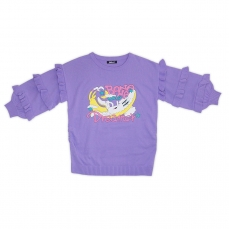Galaxxxy | Banana Knit Sweater ★ Frilly Sleeves
