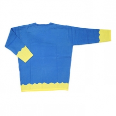 Galaxxxy | Gala-Chan Knitted Sweater ★ Blue & Yellow