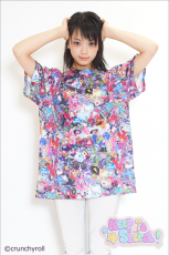 Crunchyroll x Galaxxxy presents ★ HYPERSONIC Music Club T-shirt