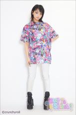 Crunchyroll x Galaxxxy presents ★ HYPERSONIC Music Club T-shirt
