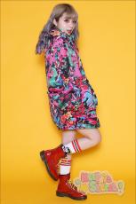 Galaxxxy | Break Down Wall ★ Red Blouson Coat