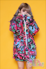 Galaxxxy | Break Down Wall ★ Red Blouson Coat
