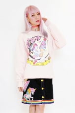 Eva x Galaxxxy Sweater ★ Pink (X LARGE)