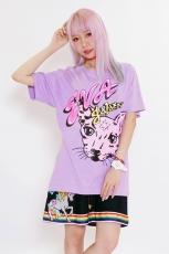 Eva x Galaxxxy ★ Cat T-Shirt Pink