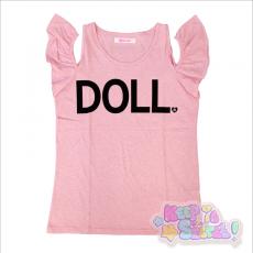 Galaxxxy x RinRin Doll Tank Top ★ Pink