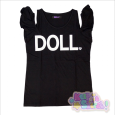 Galaxxxy x RinRin Doll Tank Top ★ Black