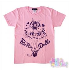 Galaxxxy x RinRin Doll T-Shirt ★ Light Pink