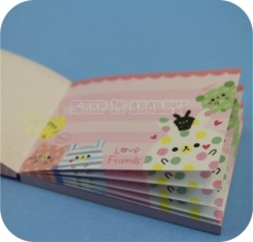 KAMIO | Love Friends ★ Pink Mini Note Pad