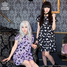 One Piece Bat Dress ★ Listen Flavor