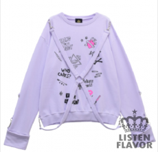 Graffiti harness Sweater  ★ Listen Flavor