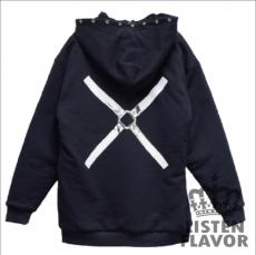 Cross Harness Hoodie ★ Listen Flavor