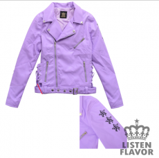 Star Stud Braided Riders Jacket ★ Listen Flavor