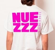 NUEZZZ Nap Logo & Square Back Logo T-shirt ★ NUEZZZ