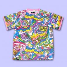 MOE MOE ALL Over Print T-Shirt ★ NUEZZZ