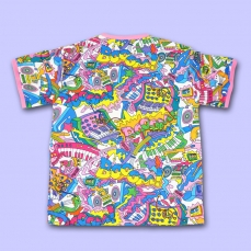MOE MOE ALL Over Print T-Shirt ★ NUEZZZ