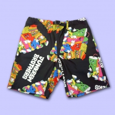 Junkrew Bros All-over Print Short Pants ★ NUEZZZ