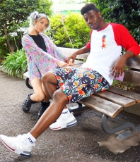 Eight Arms All-over Print Short Pants ★ NUEZZZ