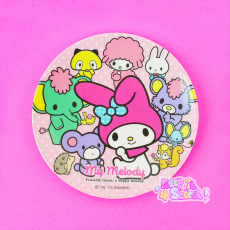 Hello Kitty / My Melody ★ Soy Sauce Plate