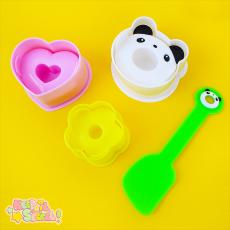 Panda ★ Sushi Mould