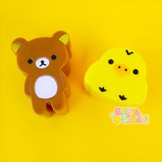 Rilakkuma & Kiiroitori ★ Mini-Sandwich Cutter