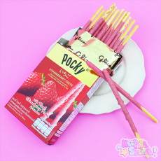 Fruity Strawberry Pocky ★ Glico