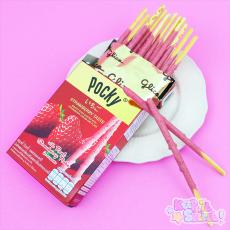 Fruity Strawberry Pocky ★ Glico