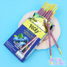 Fruity Blueberry Pocky ★ Glico
