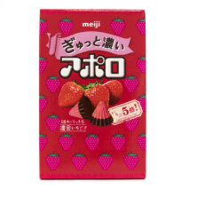 Apollo Rich Strawberry Chocolates ★ Meiji
