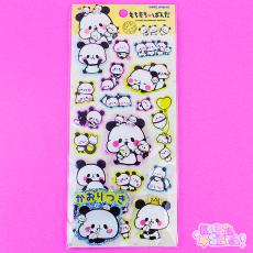 3D Mochi Mochi Panda Stickers ★ KAMIO