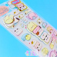 3D Funi Funi Marshmallow Stickers ★ KAMIO