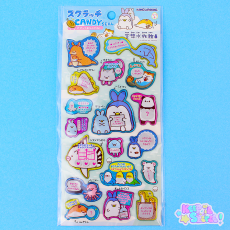 Animal Mix-up Aquarium Stickers ★ KAMIO
