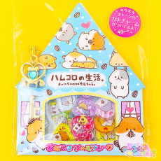 Hamster Button Stickers ★ KAMIO