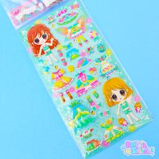 KAMIO Stickers | Fairy Girl ★ Green