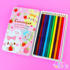 KAMIO | Fuwausa ★ Coloured Pencils Tin Set