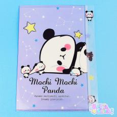 KAMIO | Mochi Mochi Panda ★ A4 Plastic Folder