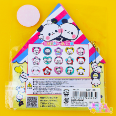 Mochi Mochi Panda | Button Stickers ★ KAMIO